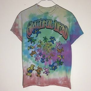 🔥2015 Grateful Dead Tie Dye T-Shirt